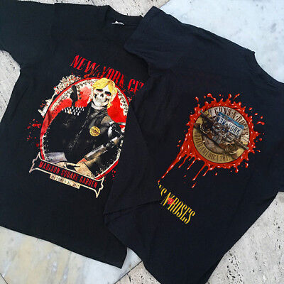 Guns N 39 Roses Tour New York Oct 11 2017 Madison Square Garden Gildan T Shirt Cad