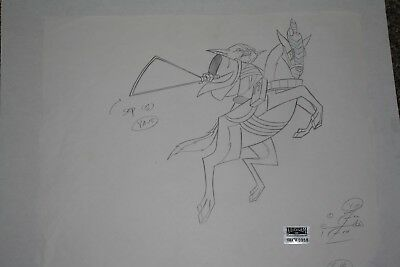 Original Animation Production Drawing from Clone Wars