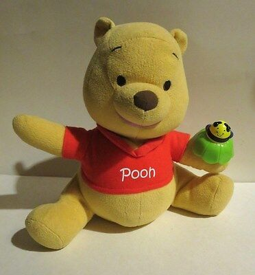 7Winnie The Pooh Bear Plush Talks Sings Fisher Price 2009