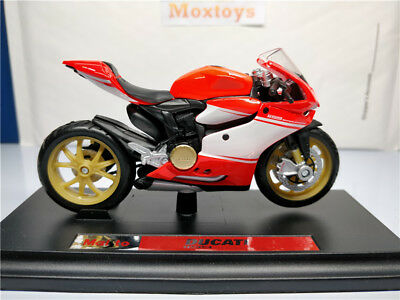 DUCATI 1199 Superleggera Diecast Moto Bike 1:18 Scale by Maisto
