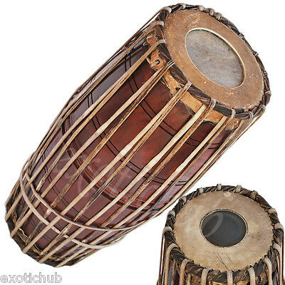 Buy Mridangam~Hand Made Indian~Mridang~Mirudang~South Indian~Jack Fruit Wood