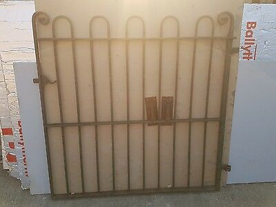 wrought iron gate front garden side back old origional in great condition infill
