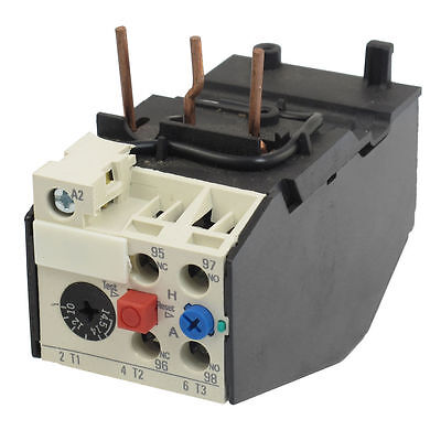 Gec thermal overload relay 14 minute type m5a for Motor thermal overload protection