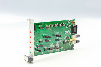 RS-422-A RS-485 TO FIBER OPTIC DATA COMMUNICATION INTERFACE CONVERTER Euro Card