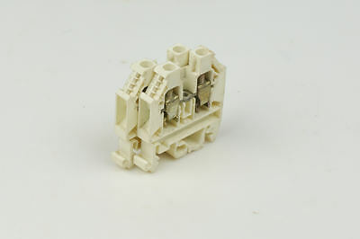 Telemecanique Schneider Terminal Block AB1 VV635U Clamp White Made In Germany