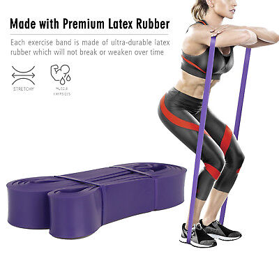 [Legs & Buttocks] Resistance POWER TRAINING BAND Gym Fitness Exercise Loop Lot