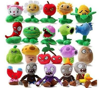 Cute PLANTS* vs.ZOMBIES*Popular Game Soft Plush Toy Stuffed Doll Kid Baby Gift@