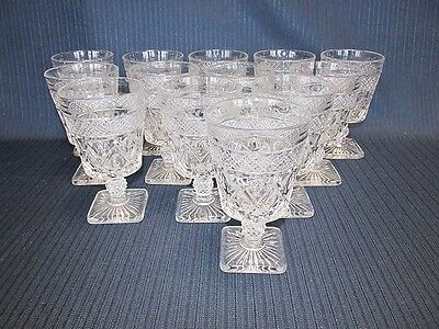 Imperial Cape Cod Claret Wine or Water Glass 13