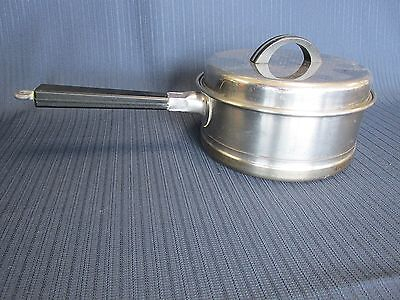 Lifetime Cookware West Bend Stainless Sauce Pan with Lid 1 Quart
