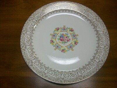 Royal China RC Sebring Ohio USA Omar 12 inch Chop Plate Round Serving Platter