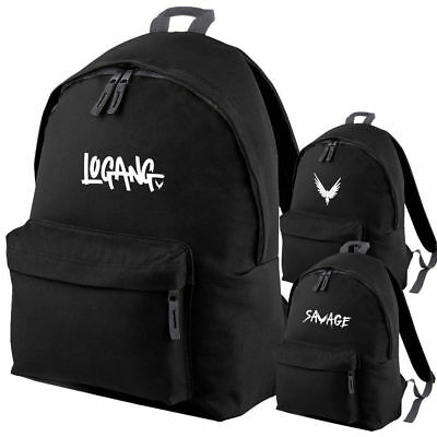 LOGANG MAVERICK SAVAGE Logan Jake Paul Team 10 Youtuber Rucksack Backpack Bag
