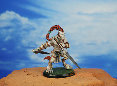 RACKHAM CONFRONTATION WOLFEN ARMY Wolf Fighter Painted Figure Model K1209 H