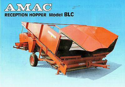 AMAC Reception Hopper BLC  Leaflet 4005E