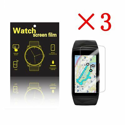 3 X High Definition Ultra Clear Film Screen Protector for Samsung Gear fit 2 pro