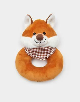 Joules Rattle Toy in Fox in One Size