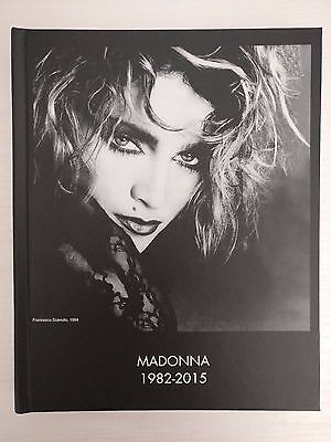 Madonna Photography Collection Book 1982-2015 (Rebel Heart Tour Dvd Blu Ray)