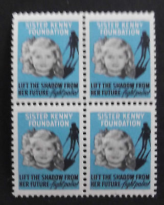 Usa 1947 Sister Kenny Foundation Stamp Seal