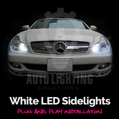 For Mercedes CLS C219 W219 Xenon White LED Side Lights Sidelights Upgrade Kit