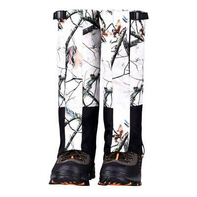 Snow Legging Gaiters Protection Guard Skiing Hiking Climbing Moutaineering M