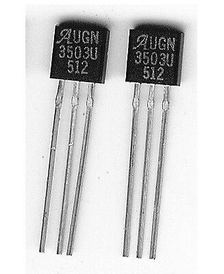 UGN3503 Linear Hall Effect magnetic sensor, magnetic switch. (2 devices).