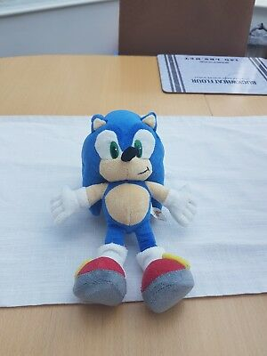sonic the hedgehog teddy