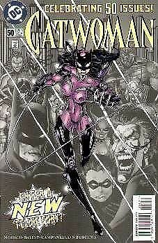 Catwoman (1993) #  50 VARIANT Yellow Title (8.0-VF)