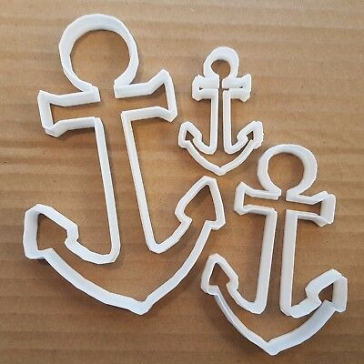 Anchor Boat Ship Sail Sea Shape Cookie Cutter Dough Biscuit Pastry Fondant Sharp