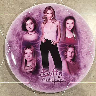 """Buffy the Vampire Slayer Exclusive Collector Plate """"Women of Buffy"""" - VERY RARE"""