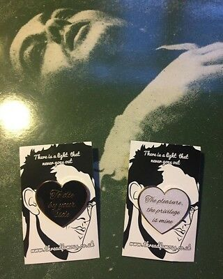 The Smiths Morrissey 'There Is A Light' Pin Badges A Guy Called Minty Madchester