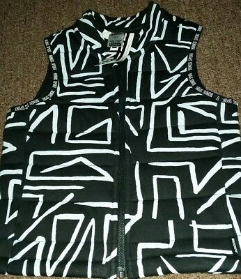 Bonds Kids Sport Vest Black & White BNWT 2