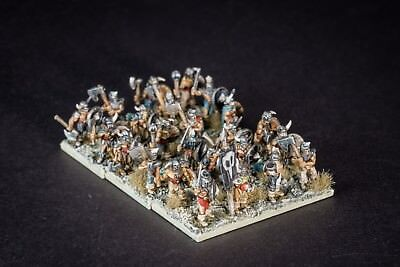 Marauders of Erebos for warmaster Chaos army - 4 pieces in 10mm scale