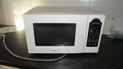 white daewoo microwave and grill kog-6l7b only 6 months old vgc