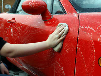 CAR VALETING wash, washing, cleaning. Business start up guide + website template