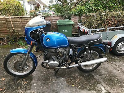 BMW R60/7 motorcycle project for restoration