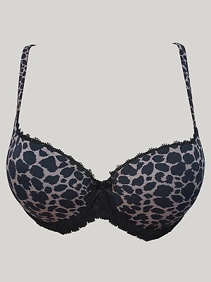 ex M/&S Balcony Padded Bra with Lace Detailing Underwired Embroidered MS2