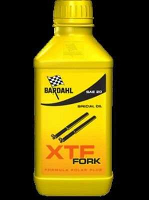 500ml OLIO FORCELLA BARDAHL XTF 20W MOTO CROSS ENDURO SCOOTER BICI