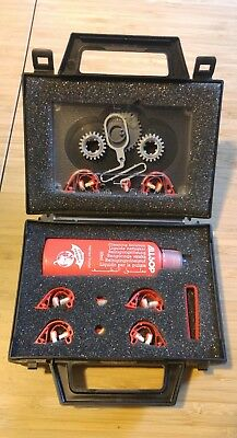 Allsop 3 Audio Cassette Cleaning Kit ** Light Use, Vintage **