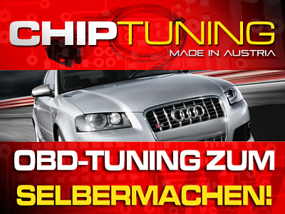 CHIPTUNING AUDI A3 (8P) 1.9 TDI - OBD-Tuning Do-it-Yourself inkl. Flasher