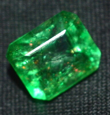 Marvelous 5.00 Ct Natural GGL Certified Emerald Shape Colombia Emerald Gemstone