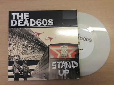 """THE DEAD 60's - STAND UP/REMOTE DUB  7"""" COLOURED VINYL GATEFOLD P/S"""