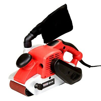 Lumberjack EBS100 4 Inch Electric Belt Sander with Dust Bag and 3 Sanding Bel...