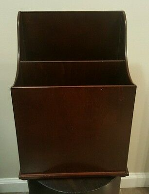 Bombay and Company Solid Wood Magazine Holder Book Rack