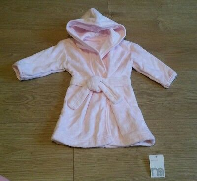 BNWT Mothercare Dressing Gown Size Small