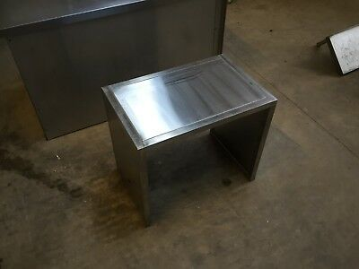 Stainless Steel Unit, Kitchen, Commercial Catering, Table, Plinth, Cover????