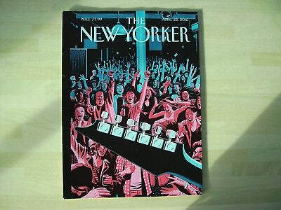 The New Yorker.     Weekly American Magazine.      2017 Issues.  Nine Available.