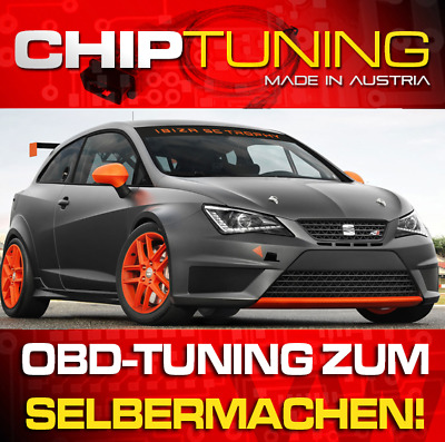 CHIPTUNING SEAT Ibiza (6J) 1.9 TDI PD - OBD-Tuning Do-it-Yourself inkl. Flasher
