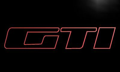 GTI PEUGEOT 205 LED light Sign bar Automobile decoration - No Brochure Prospekt