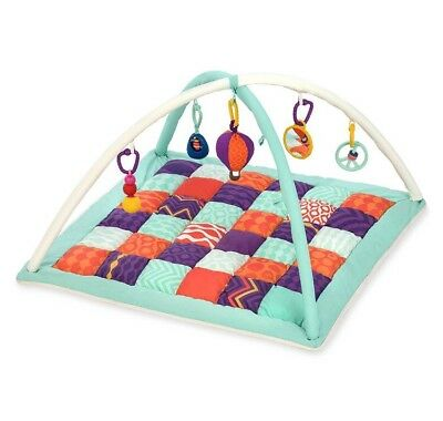 Baby B. Wonders Above Quilted Activity Gym Playmat