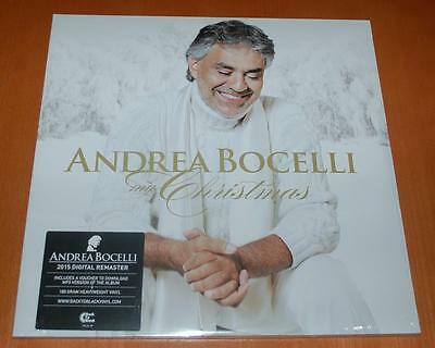 Andrea Bocelli - My Christmas - Sealed 2015 Double Vinyl LP