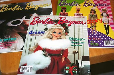 29 Barbie Bazaaar MagazineBack Issues/1995-2000/Very Good Condition